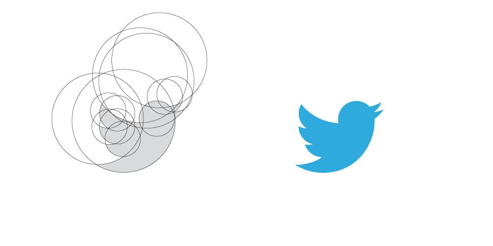 Come creare un logo: esempio Twitter