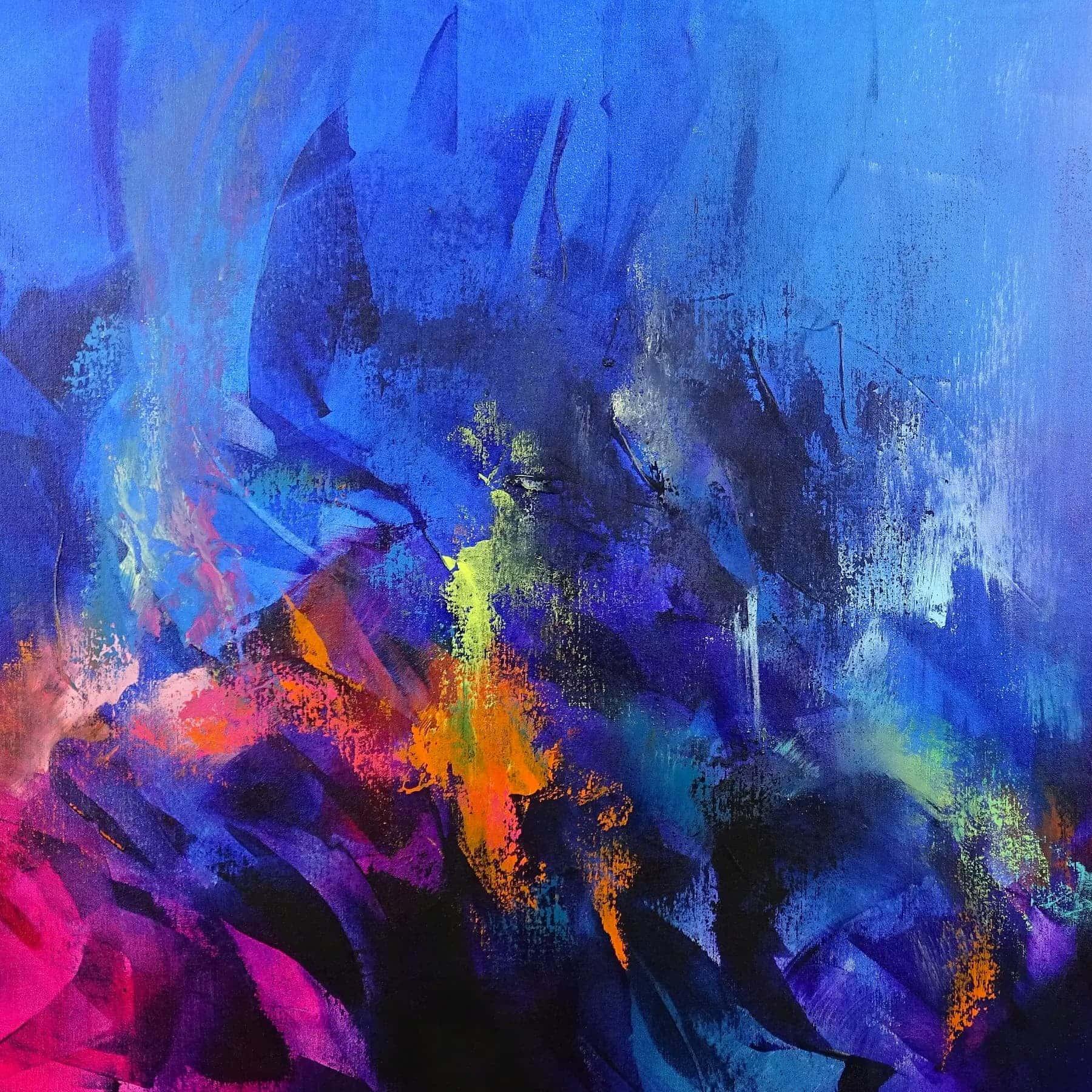 Arte astratta colorata